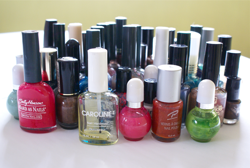 Old polishes, out of the bag!
