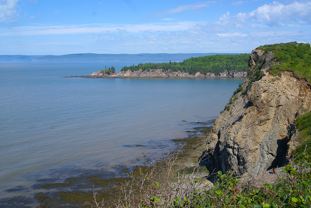 Now we're at Cape ENRAGE! Not sure how you could be enraged here.