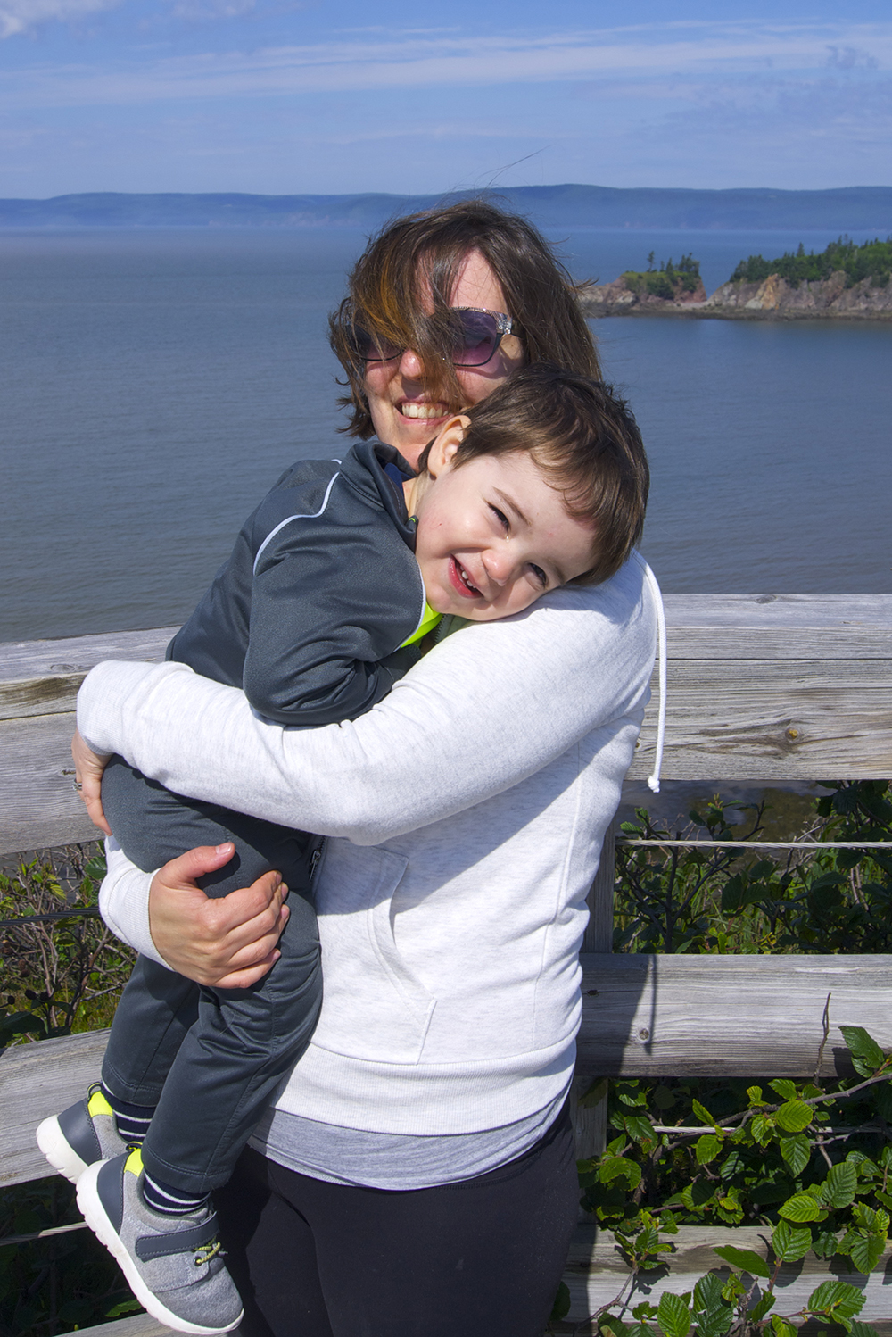 Me and my little dude at the lookout point