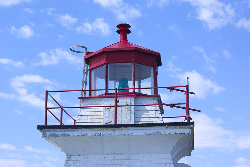 Top of the lighthouse to ya!